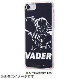 イングレム Ingrem iPhone 7用 TPUケース+背面パネル ダイナミック STAR WARS スター・ウォーズ6 IJ-SWP7TP/SWS006