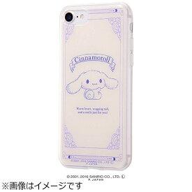 イングレム Ingrem iPhone 7用 TPUケース+背面パネル サンリオ シナモロール2 IJ-SRP7TP/CN002