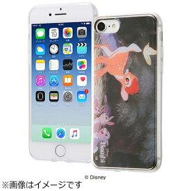 イングレム Ingrem iPhone 7用 TPUケース+背面パネル ディズニー バンビ2 名場面 IJ-DP7TP/BB002