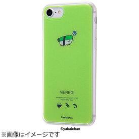 イングレム Ingrem iPhone 7用 TPUケース+背面パネル おしゅしだよ めねぎ1 IJ-TCP7TP/OS004