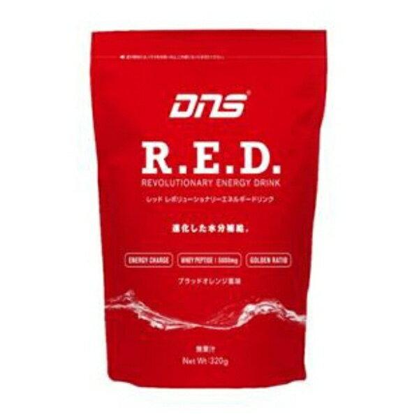 DNS DNS R.E.D. レボリューショナリーエネルギードリンク【ブラッドオレンジ風味/320g】