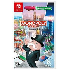 ユービーアイソフト Ubisoft モノポリー for Nintendo Switch【Switchゲームソフト】 【代金引換配送不可】