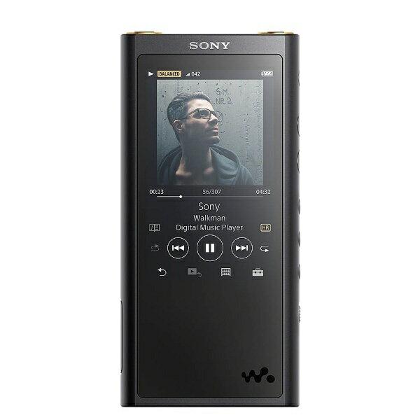 【送料無料】 ソニー 【ハイレゾ音源対応】デジタルオーディオプレーヤー ウォークマン WALKMAN ZXシリーズ 2017年モデル(ブラック/64GB) NW-ZX300 BM[イヤホンは付属していません][NWZX300BM]