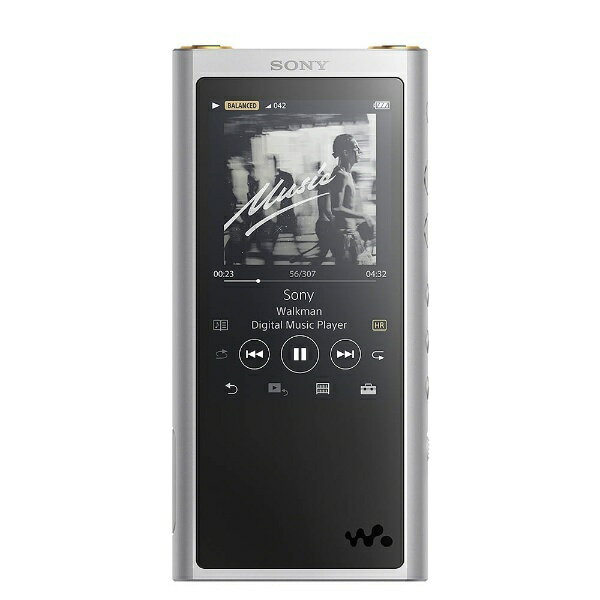 【送料無料】 ソニー SONY ハイレゾウォークマン WALKMAN ZXシリーズ 2017年モデル[イヤホンは付属していません] NW-ZX300 SM シルバー [64GB /ハイレゾ対応][NWZX300SM]