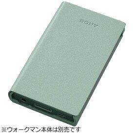 ソニー SONY NW-A40シリーズ専用ソフトケース(グリーン) CKS-NWA40 GMWW[CKSNWA40GMWW]