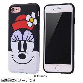 イングレム Ingrem iPhone 7用 TPUソフトケース クローズアップ ディズニー ミニーマウス IN-DP7H/MN
