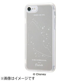 イングレム Ingrem iPhone 7用 ハイブリッドケース ミラーデザイン ディズニー シンデレラ シルバー IN-DP7UM/CN