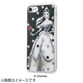 イングレム Ingrem iPhone 7用 TPUソフトケース メタルドローイング ディズニー 美女と野獣 ベル IN-DP7HMP/BL2
