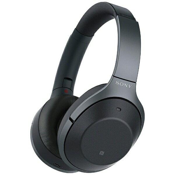 【送料無料】 ソニー ブルートゥースヘッドホン WH-1000XM2 BM ブラック [ハイレゾ対応 /Bluetooth /ノイズキャンセル対応][WH1000XM2BM]
