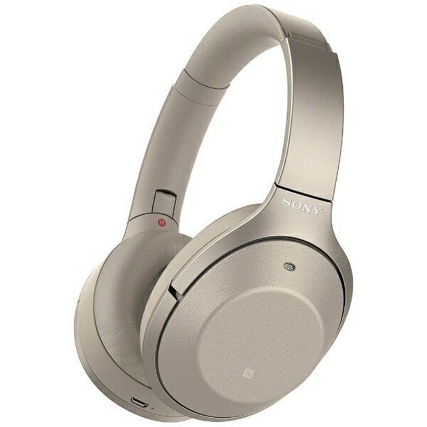 【送料無料】 ソニー SONY ブルートゥースヘッドホン WH-1000XM2 NM シャンパンゴールド [ハイレゾ対応 /Bluetooth /ノイズキャンセル対応][WH1000XM2NM]