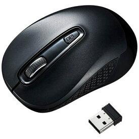 サンワサプライ SANWA SUPPLY MA-WBL41BK マウス ブラック [BlueLED /3ボタン /USB /無線(ワイヤレス)][MAWBL41BK]