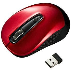 サンワサプライ SANWA SUPPLY MA-WBL41R マウス レッド [BlueLED /3ボタン /USB /無線(ワイヤレス)][MAWBL41R]