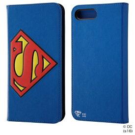 イングレム Ingrem iPhone 7 Plus用 手帳型ケース ポップアップ スーパーマン IN-WP7PJ/SM