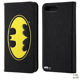 イングレム Ingrem iPhone 7 Plus用 手帳型ケース ポップアップ バットマン IN-WP7PJ/BM