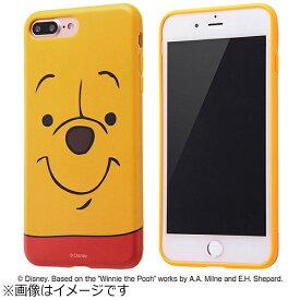 イングレム Ingrem iPhone 7 Plus用 TPUソフトケース クローズアップ ディズニー くまのプーさん IN-DP7PH/PO