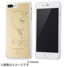 イングレム Ingrem iPhone 7 Plus用 ハイブリッドケース ミラーデザイン ディズニー ジーニー ゴールド IN-DP7PUM/GN