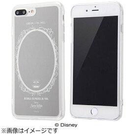 イングレム Ingrem iPhone 7 Plus用 ハイブリッドケース ミラーデザイン ディズニー 白雪姫 シルバー IN-DP7PUM/SW