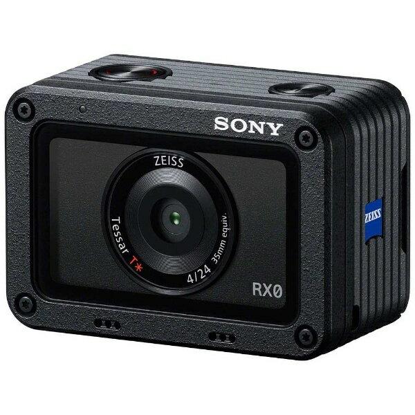 【送料無料】 ソニー SONY DSC-RX0 コンパクトデジタルカメラ Cyber-shot(サイバーショット) [防水+耐衝撃][DSCRX0]