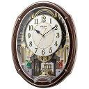 リズム時計 RHYTHM 電波からくり時計 「スモールワールドアルディ」 4MN545RH23[4MN545RH23]