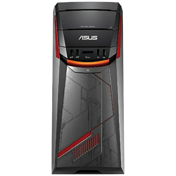 【送料無料】 ASUS モニター無 ゲーミングデスクトップPC[Win10 Home・AMD Ryzen・HDD 1TB・メモリ8GB]ASUS G11DF ブラック G11DF-R5G1050(2017年秋モデル)[G11DFR5G1050]