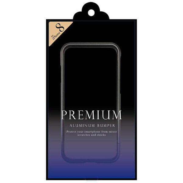 FSC iPhone X用 アルミニウムバンパー  ブラック/パープル BPi8-02PU