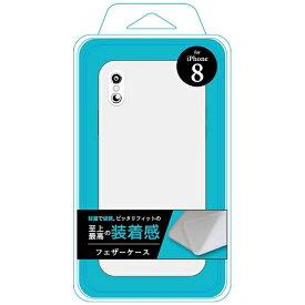 F.S.C. 藤本電業 iPhone X用 フェザーケース ホワイト Ji8-03WH[iPhoneケース]