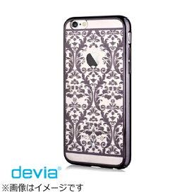 BELEX ビーレックス iPhone X用 Crystal Baroque Case ブラック BXDVCS0008BK