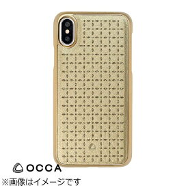 BELEX ビーレックス iPhone X用 Spade Back Cover ゴールド BLOCCS2003GD