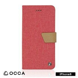 BELEX ビーレックス iPhone X用 手帳型 Linen Flip case ピンク BLOCCS2001PK