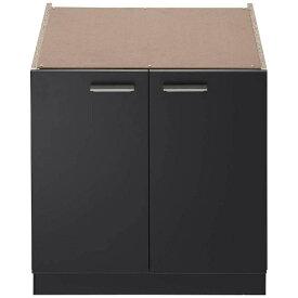ノーリツ NORITZ システムキッチン用両開収納庫 NLA6020 ブラック