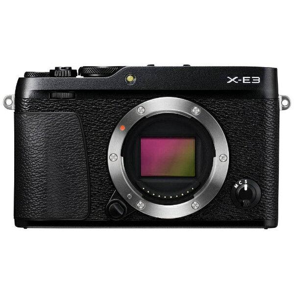 【送料無料】 フジフイルム FUJIFILM FUJIFILM X-E3【ボディ(レンズ別売)】(ブラック/ミラーレス一眼カメラ)[FXE3B]