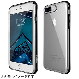 MOTOMO モトモ iPhone 8 Plus INO Achrome Shield ブラック INOASPBK
