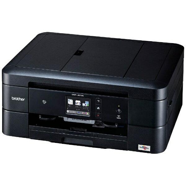 【送料無料】 ブラザー brother A4インクジェットプリンター [USB2.0/無線LAN/有線LAN/メモリーカードスロット] PRIVIO「プリビオ」 DCP-J973N-B