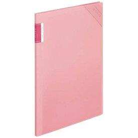 コクヨ KOKUYO [ホルダー] クリヤーホルダーブック 「モッテ」 固定式 A4縦 6ポケット フ-LM5710LP-6 薄ピンク