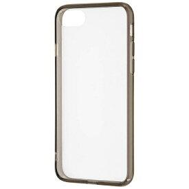 レイアウト rayout iPhone 8用 ハイブリッドケース ブラック RT-P14CC2/BM