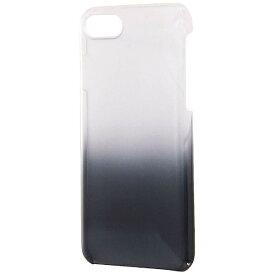 レイアウト rayout iPhone 8用 ハードケース 極薄 クリアブラック RT-P14TC2/BM