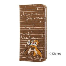 レイアウト rayout iPhone 8用 ディズニー 手帳型ケース スタンディング カーシヴ チップ&デール RT-DP14T/CD