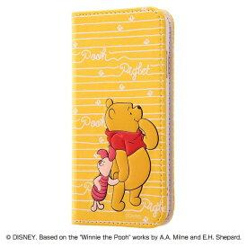 レイアウト rayout iPhone 8用 ディズニー 手帳型ケース スタンディング カーシヴ くまのプーさん RT-DP14T/PO