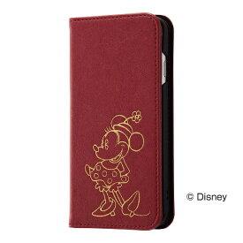 レイアウト rayout iPhone 8用 ディズニー 手帳型ケース ホットスタンプ ワンポイント ミニーマウス RT-DP14I/MN
