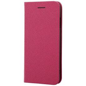 レイアウト rayout iPhone 8用 手帳型ケース マグネットタイプ ピンク RT-P14SLC3/JP