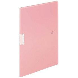コクヨ KOKUYO クリヤーブック「モッテ」(固定式)A4縦 10枚ポケット ラ-LM10LP 薄ピンク