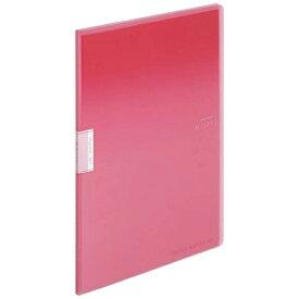 コクヨ KOKUYO クリヤーブック「モッテ」(固定式)A4縦 10枚ポケット ラ-LM10P ピンク