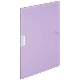 コクヨ KOKUYO クリヤーブック「モッテ」(固定式)A4縦 10枚ポケット ラ-LM10V 紫