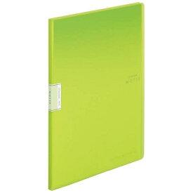 コクヨ KOKUYO クリヤーブック「モッテ」(固定式)A4縦 20枚ポケット ラ-LM20LG 黄緑