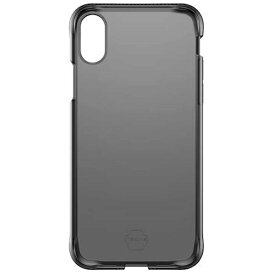 ITSKINS イッツキンズ iPhone X用 ZERO GEL 耐衝撃ケース Gフィルム付 ブラック MSITP8ZBK