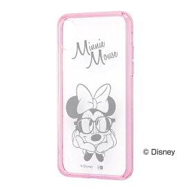 レイアウト rayout iPhone X用 ディズニー ハイブリッドケース ミニーマウス RT-DP16U/MNM