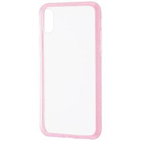 レイアウト rayout iPhone X用 ハイブリッドケース ピンク RT-P16CC2/PM