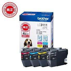 ブラザー brother LC3111-4PK 純正プリンターインク 4色セット[LC31114PK]【wtcomo】