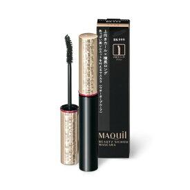 資生堂 shiseido MAQuillAGE(マキアージュ) ビューティーシルエットマスカラ BK999(艶ブラック)[マスカラ]