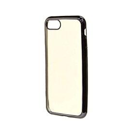 ラスタバナナ RastaBanana iPhone 8 サイドメッキTPUケース ブラック 3454IP7SA